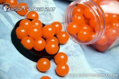 шары для игры в пейнтбол 17,3мм