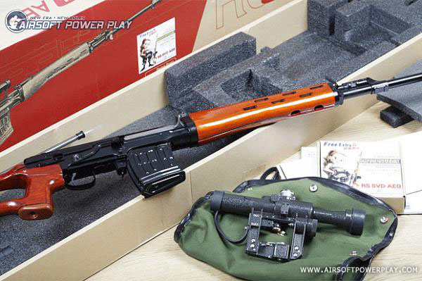 svd aeg with pso airsoft