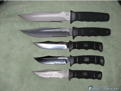 Нож морских котиков