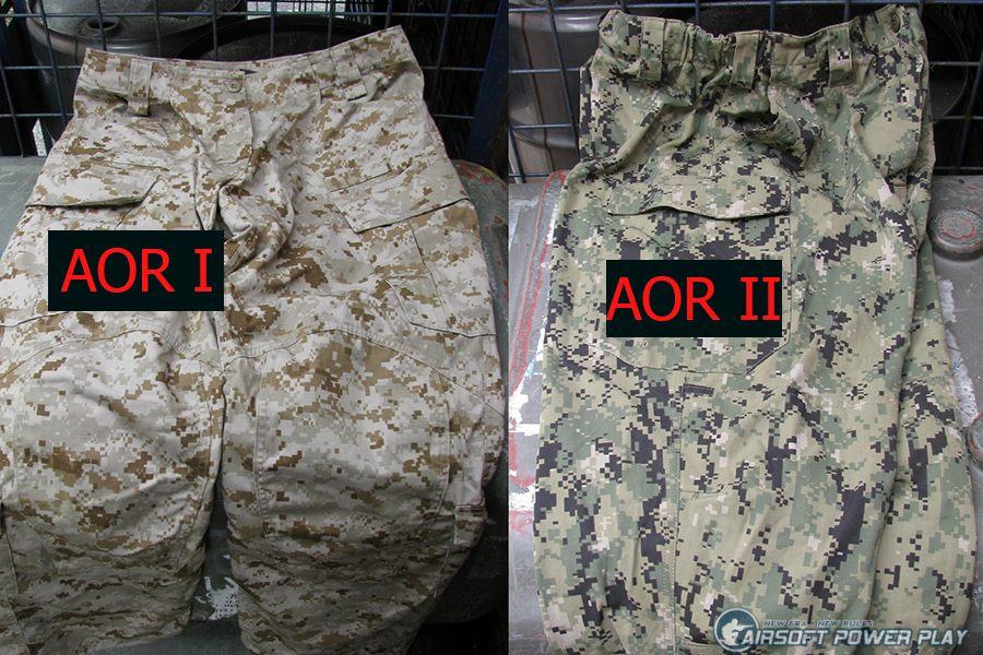 AOR1 VS AOR2