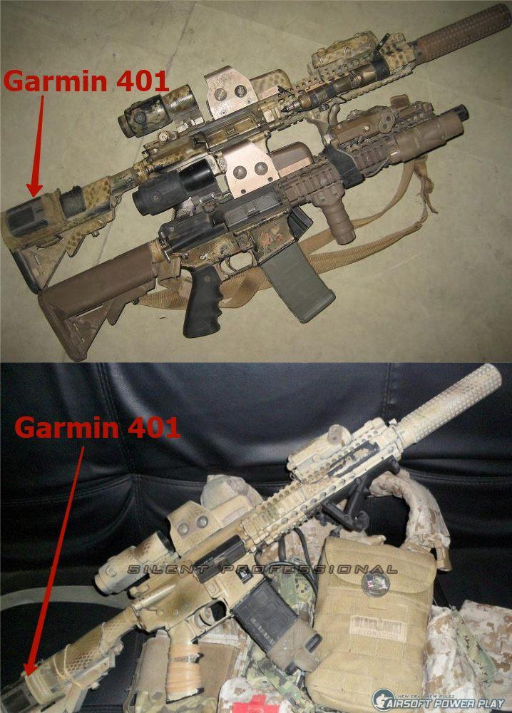 MK18MOD1+Garmin Foretrex 401