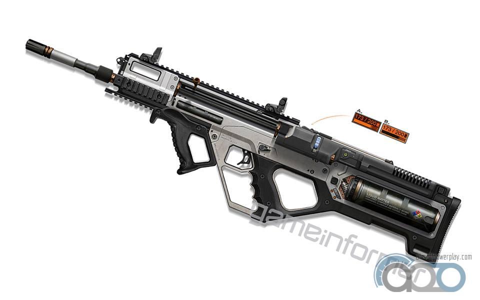 оружие из нового COD