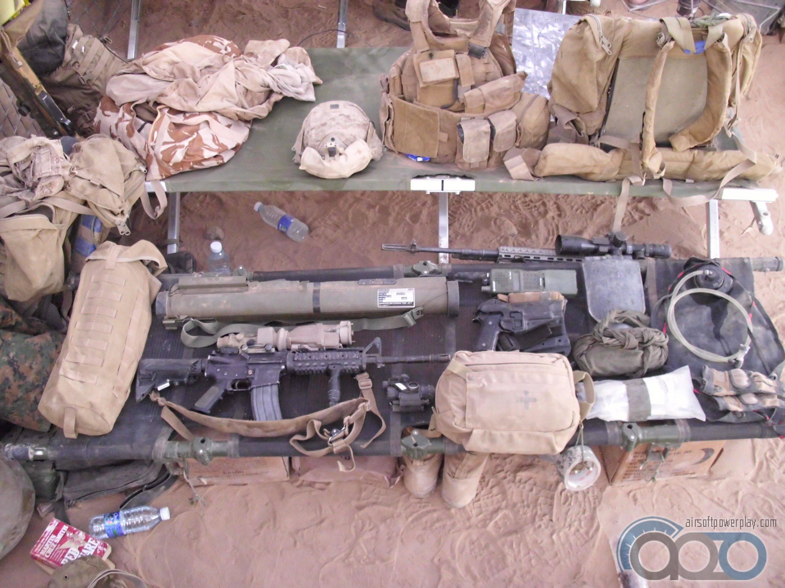 USMC стандартный loadout