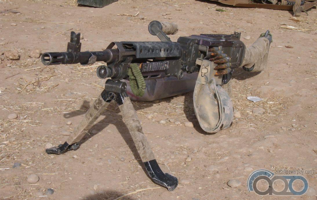 пулемёт USMC М240В