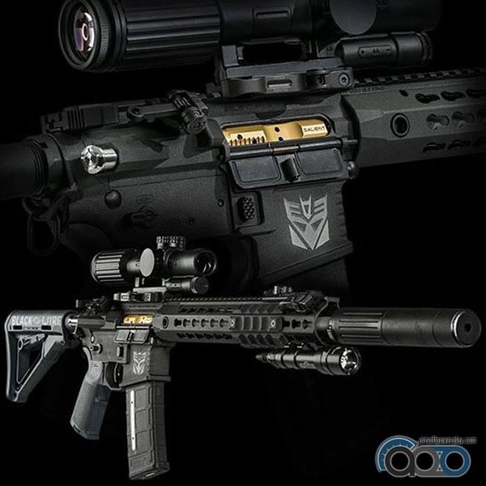 GBB винтовка из Трансформеров