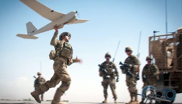 Кадрокоптер Us.Army