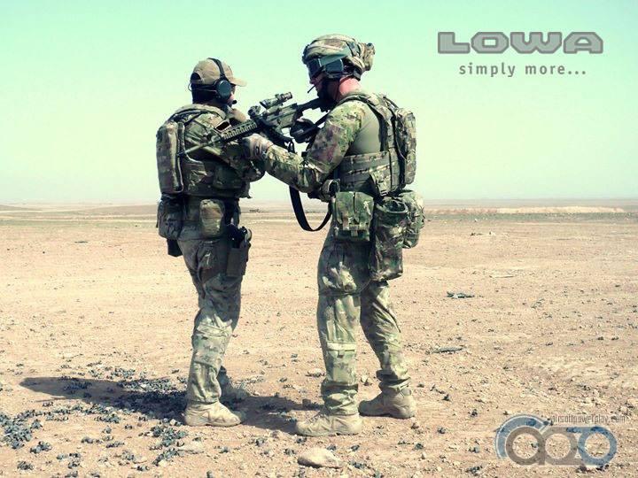 Navy Seal Lowa Zpehyr MID TF