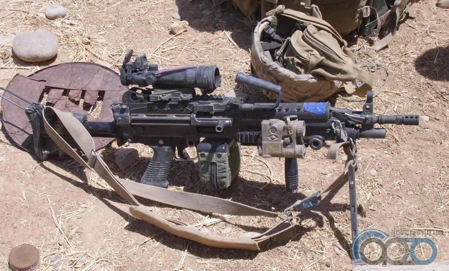 пулемёт M249 SAW