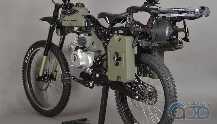 Зомби мотоцикл