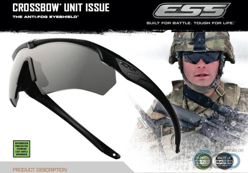 баллистические очки ESS Crossbow 2