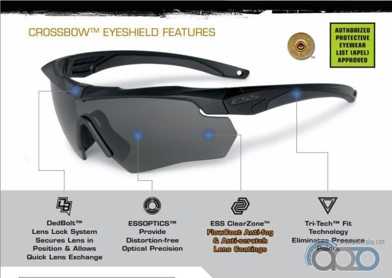 баллистические очки ESS Crossbow