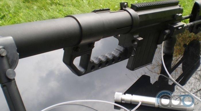 Из спринговой винтовки в газовую