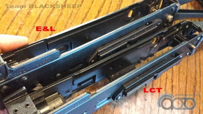 АК ствольная коробка E&L vs LCT