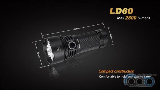 Fenix LD60 новый фонарик