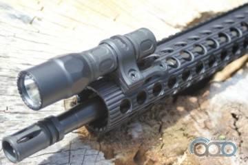 Крепление для фонаря на винтовку от Arson Machine3