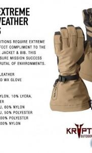 Kryptek перчатки Aegis для холодной погоды