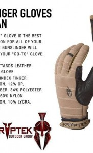 Kryptek Gunslinger перчатки