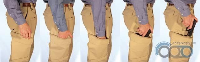 STRYKR - брюки с кабурой тактические