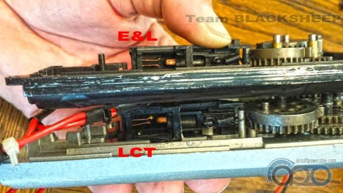 контактные группы  E&L vs LCT