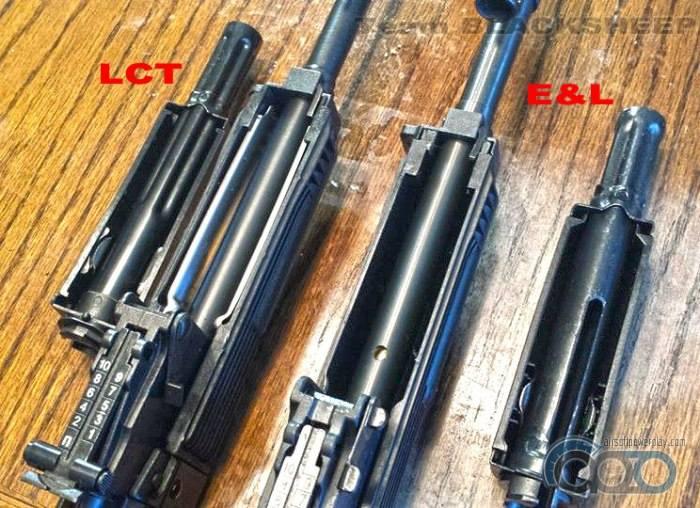 труба газоотвода E&L vs LCT