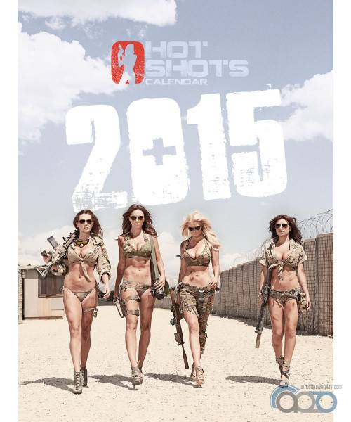 календарь Hot Shots 2015