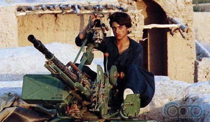 крупнокалиберная пушка афганистан