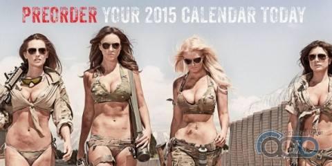 новый календарь Hot Shots 2015