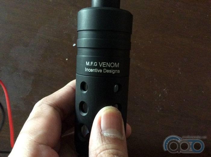 подсветка стрельбы MFG Venom