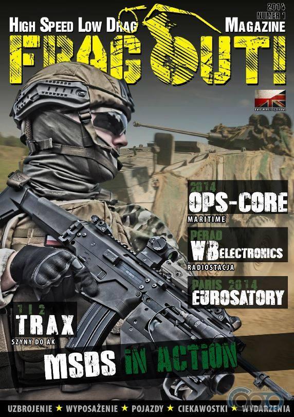 страйкбольный журнал Frag Out