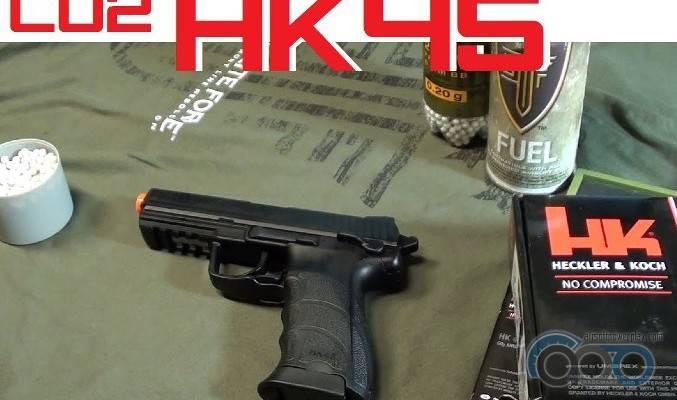 HK45 Co2 от Elite Force