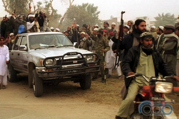 Toyota Hilux террористы