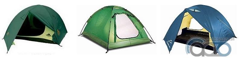 двухслойные палатки полусферы