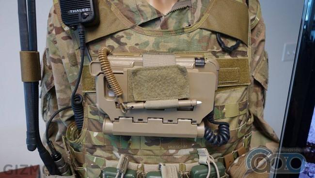крепление для смартфона на бронежилет
