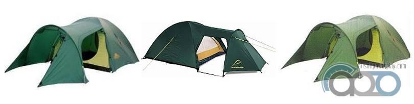 палатка комбинированная полубочка