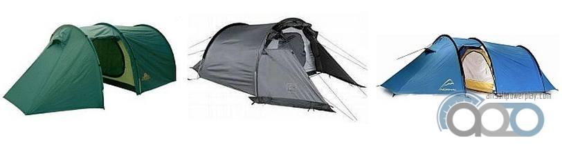 палатки полубочки