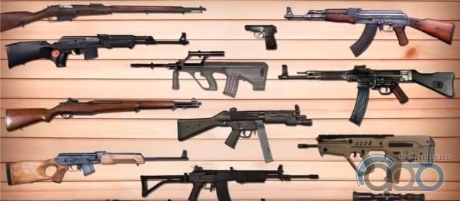 10 моделей оружия - американцев учат произносить правильно