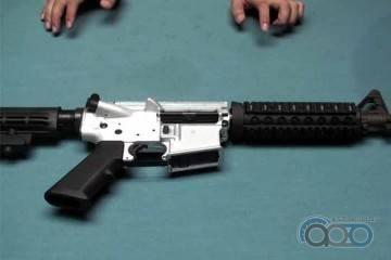 Прототип ресивера для GHK M4 GBB от RaTech