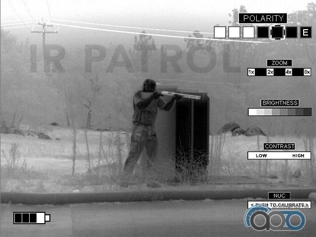 TNVC IR Patrol Thermal Monocular