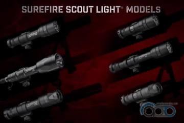 Презентация новых фонарей SureFire - Scout Light - YouTube - Google Chrome