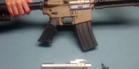Ra-Tech болт-керриер для WE M4 GBB маркировки