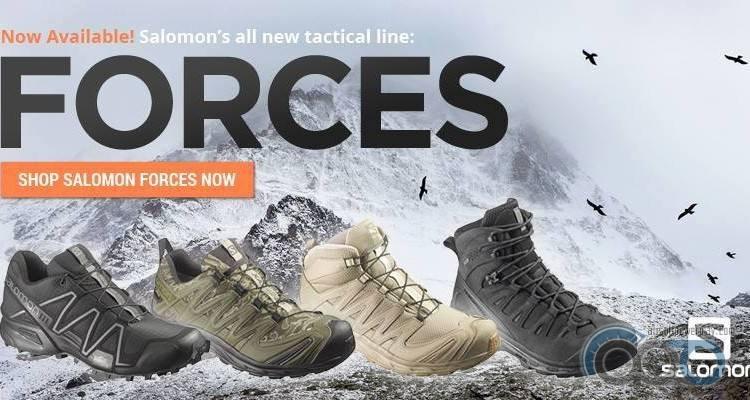 Salomon Forces ботинки