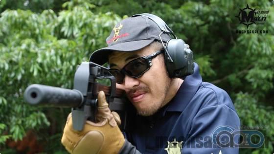 Стрельба P90-TR AEG