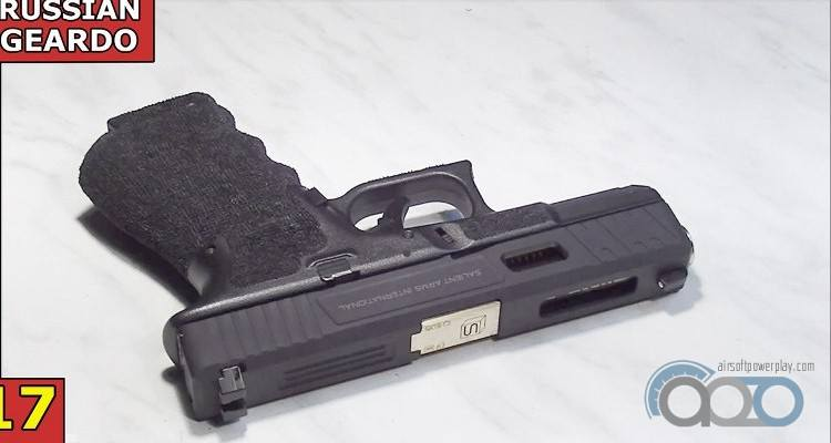 Glock 17 GBB Airsoft Surgeon