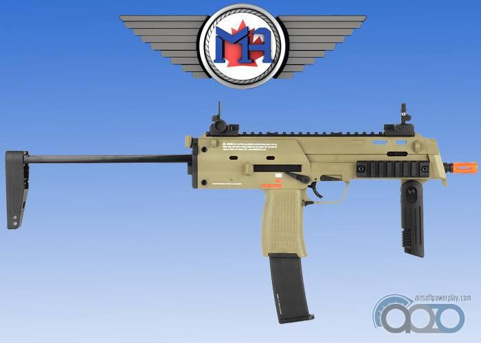 Новый MP7 GBB от Umarex в FDE