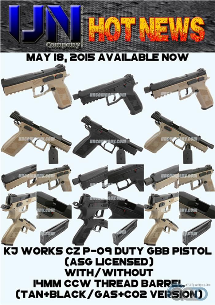 KJW CZ-P09 GBB 2