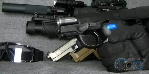 Обзор пистолета WE PX4 Storm Compact GBB