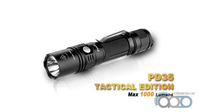Тактический фонарь Fenix PD35