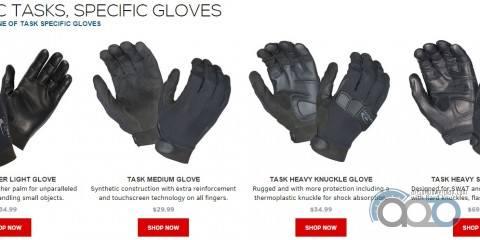 Hatch Task Line перчатки от Safariland