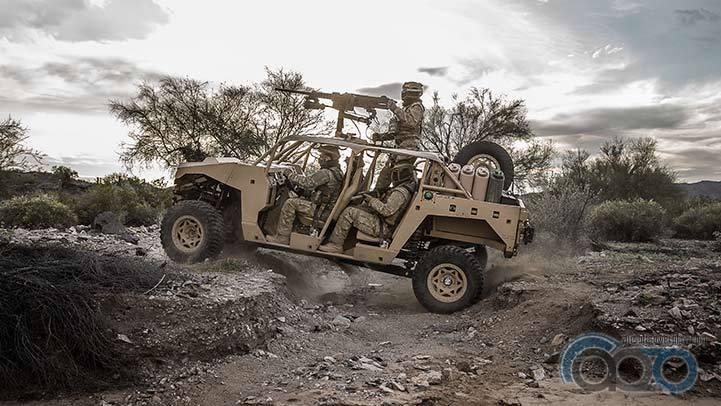 Polaris DAGOR боевой автомобиль