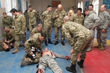 как тренируется спацназ украины
